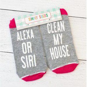 🌺 Simply Southern Fun Saying Simply Socks - Clean